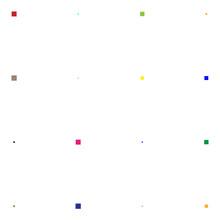 4x4 Cube, Square Geometric Arrangement. Square Illustration