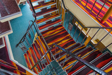 Stairs On Cruise Ship