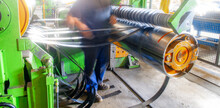 Roll Of Galvanized Steel Sheet...