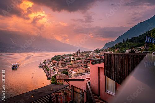 Fotografía See Gardasee Berge
