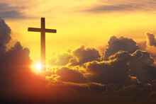 The Cross Of Christ In The Yel...