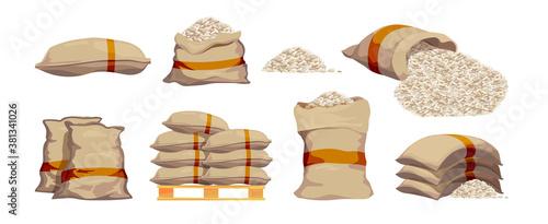 Fotografia Rice bags