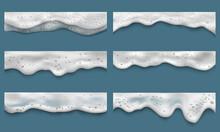 Water Foam. Clean Washing Liqu...