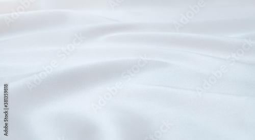 Obraz na plátně white satin fabric as background
