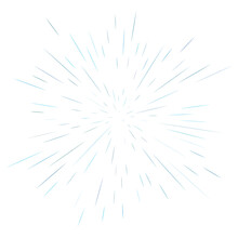 Radial, Radiating Lines Abstract Burst, Explosion, Fireworks Effect