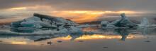 Jokulsarlon Glacier Lagoon In ...
