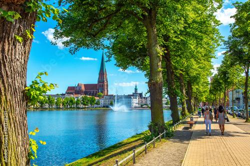 Deutschland, Mecklenburg-Vorpommern Fotobehang