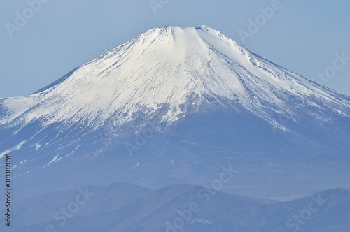 Fotografie, Obraz 冬の丹沢山地からの展望 小丸より望む富士山