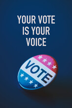 Vote Badge And Text Your Vote ...