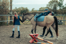 Hippotherapy Means The Therapeutic Use Of Horses. Hippotherapy Is A Medically Based Treatment Tool, Whereas Therapeutic Riding Involves Teaching People With Disabilities Equestrian Skills.