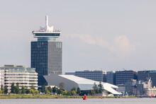 Modern Amsterdam Cityscape