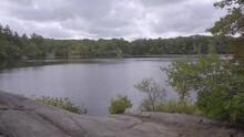 Static Video Of Breakheart Reservation In Saugus, Massachusetts.