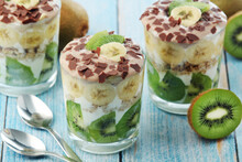 Trifle Desserts With Bananas, ...