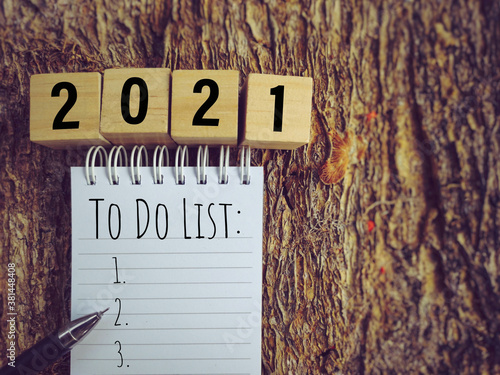 TO DO LIST text written on notepad in vintage background Canvas Print