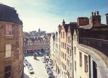 Edinburgh Victoria Street,  Old Town Of Edinburgh. Scotland UK