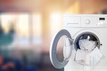Washing Machine With Different...