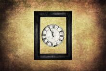Five Minutes To Twelve Clock In Frame