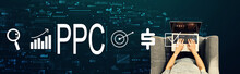 PPC - Pay Per Click Concept Wi...