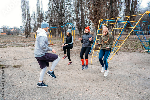 Tela Group fitness classes outdoors