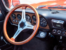 The Steering Wheel And Dashboa...