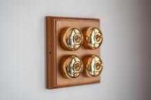 Old School Brass Light Switche...