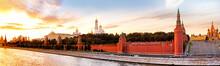 Moscow Kremlin Landmark Skylin...
