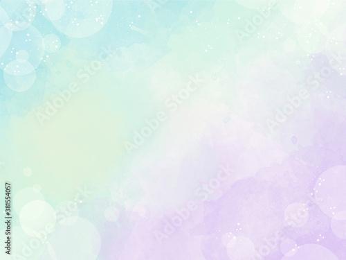 背景 素材 水彩 テクスチャ パステルカラーの優しいイメージのグラデーション