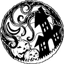 Happy Halloween Hand Drawn Illustrations. Vector Illustration, Eps 10