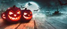Halloween - Kürbis - Geisterh...