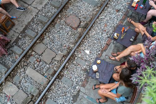 Foto Railway cafe