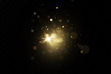 Glow Light Effect. Vector Spar...
