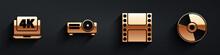 Set Laptop With 4k Video, Movi...