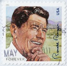 President Ronald Reagan Om Ame...