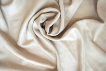Velour Background With Drapery...