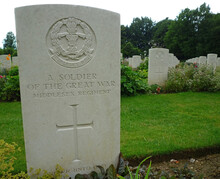 Thiepval, France: Grave Of Unknown Soldier Of The Great War
