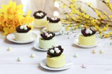 Easter Pastel Mousse Desserts ...