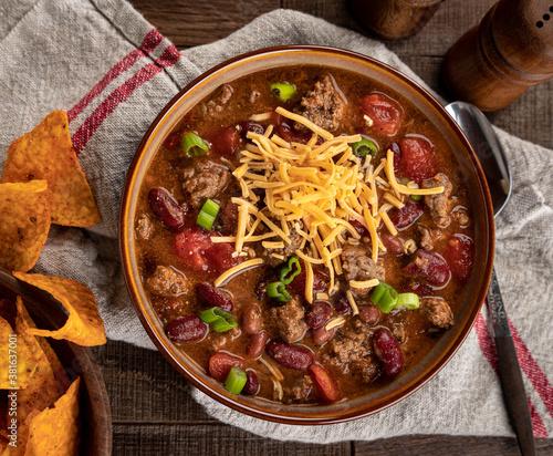 Bowl of chili con carne Tapéta, Fotótapéta
