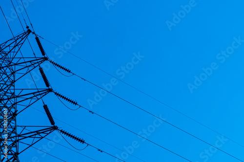 Fotografie, Obraz power lines