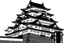 名古屋城・天守・日本...