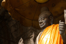 Statue Of God Vishnu Enshrined...