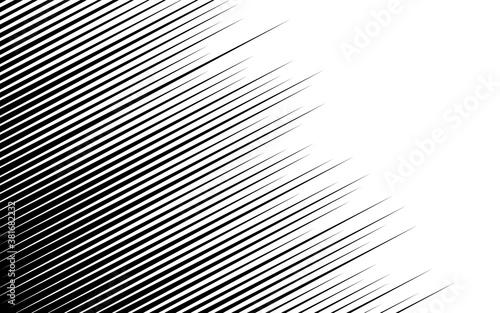 Photo 漫画風背景素材 斜めに走る流線の効果