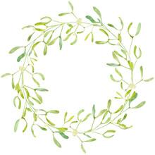 Christmas Wreath With English ...