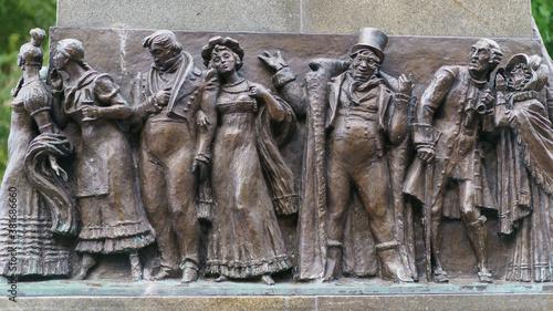 Fotografie, Obraz The monument to Alexander Griboyedov