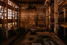 Dark Creepy Empty Abandoned In...
