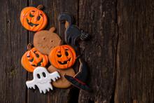 Homemade Halloween Cookies In...