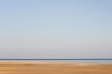 minimal blue sea and sky landscapes - 381734877