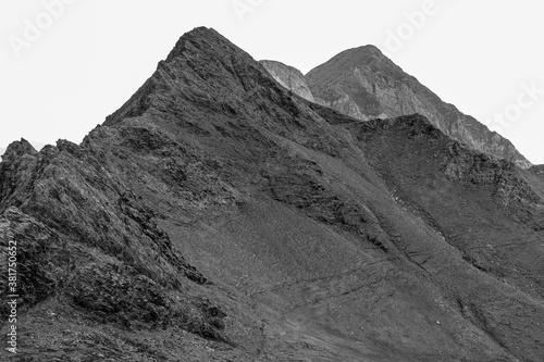 Canvas Print Une falaise abrupt de montagne
