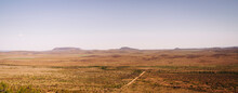 Panoramic Landscape Of West Te...
