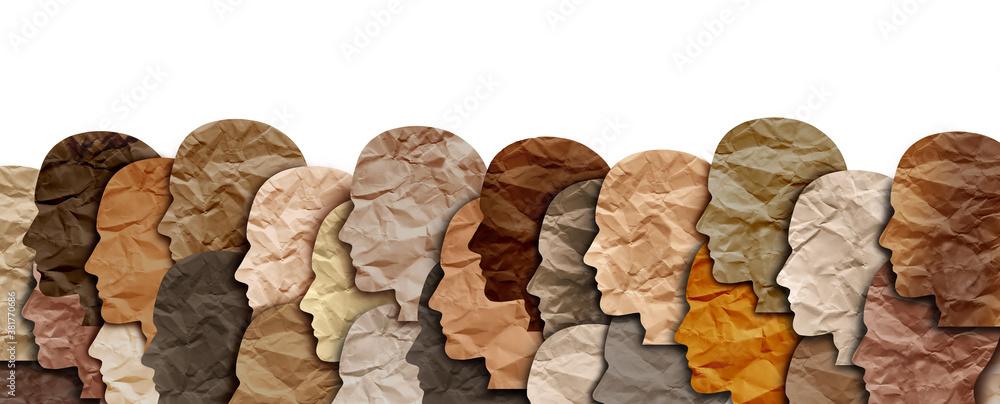 Fototapeta Diverse Society