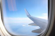 Beautiful View Through Plane W...